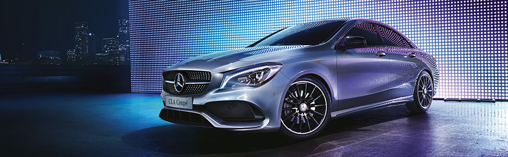 New CLA Coupé.